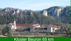 Kloster Beuron 65 km